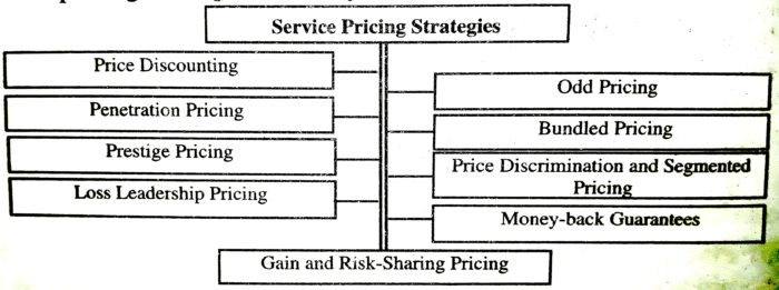 Service Pricing Policy