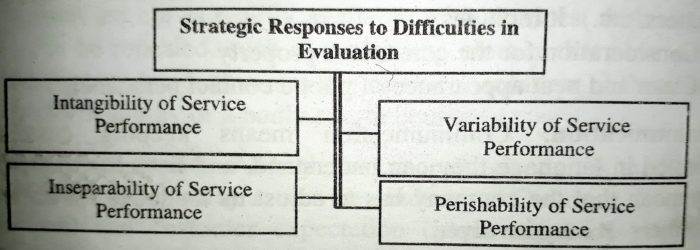 Strategies Responses to Difficulties in Evaluation